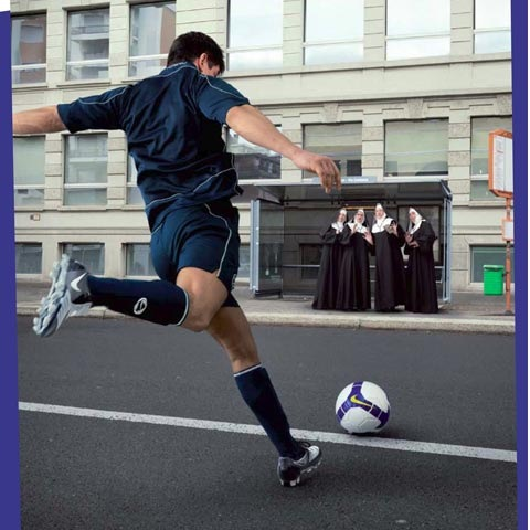football 100 Most Funny and Creative Advertisement Designs