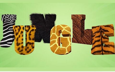 jungle-text-effect