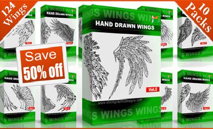 vector_and_brush_wings_mega