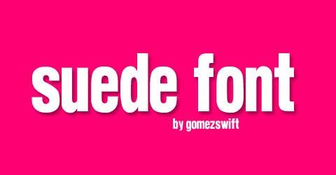 suede-font