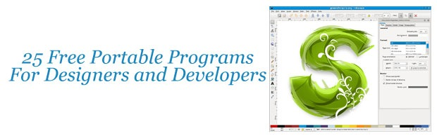 25 Free Portable Programs For Designers And Web Developers Creative Nerds