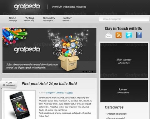 graphidia-click-theme-design