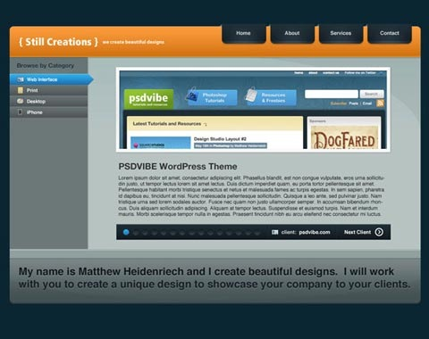 modern-weblayout