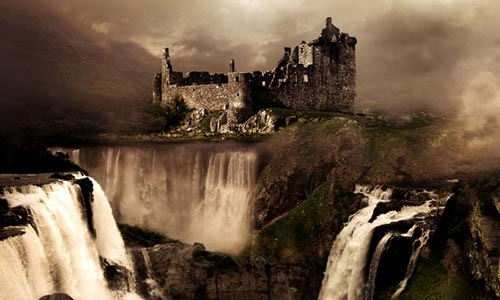 castle-water