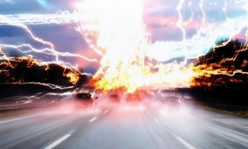 explosion-road