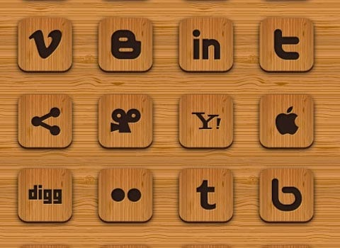 wood-icon-set