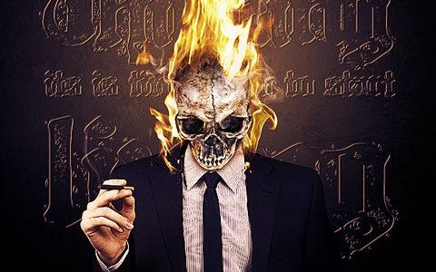 fire-skull