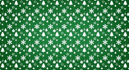 green-pattern