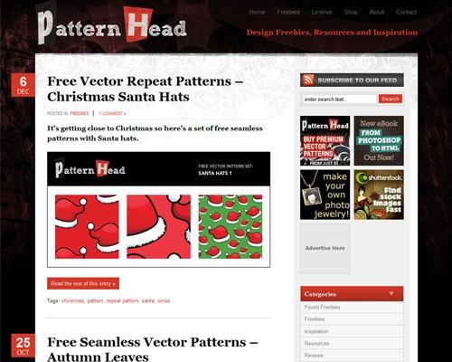 pattern-head