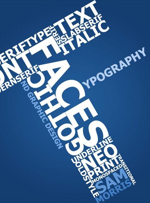 bluetypography