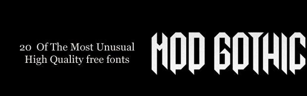 20-unusal-fonts-banner