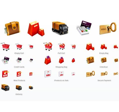 ecommerce-3d-icons