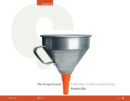 design-funnel