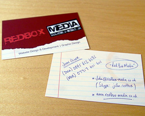 red-box-business-card