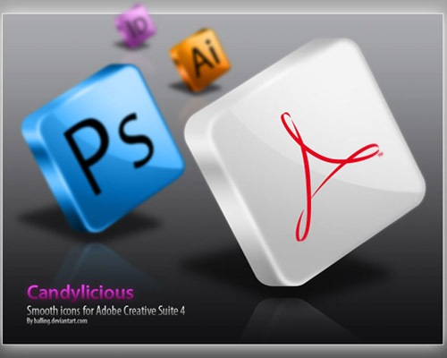 cs4psdicons 50 Free 3D High Quality PSD File Icons