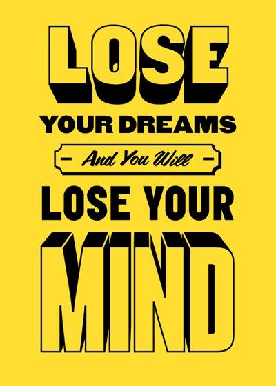 lose-your-dreams