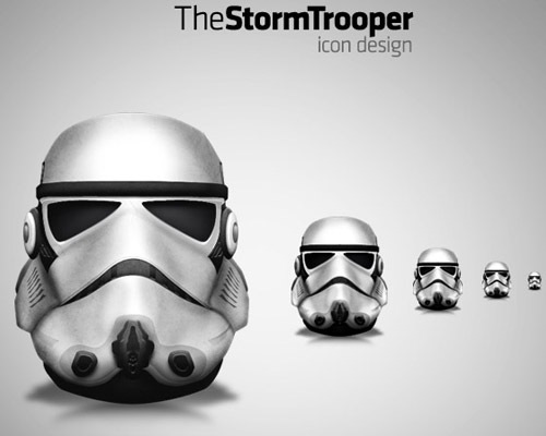 stormtroopericon 50 Free 3D High Quality PSD File Icons