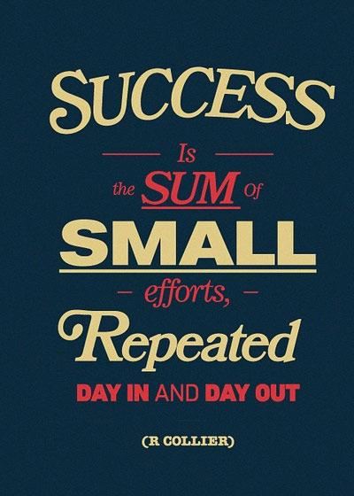 succes-sum-small-effort