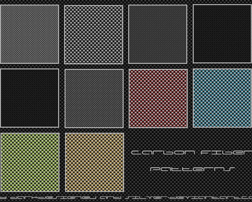 carbon-firbe-patterns