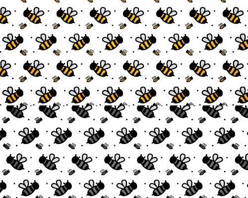 cute-bee-photoshop-pattern