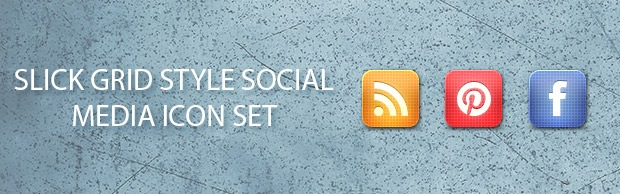 grid-style-banner-icon-set