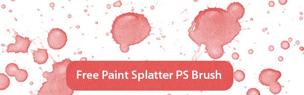 freepaintspaltterbrushpreview High Resolution Free Paint Splatter Photoshop Brush Set