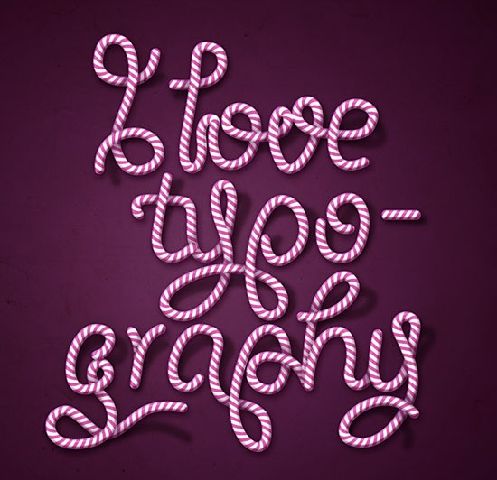 i-love-typography-candy