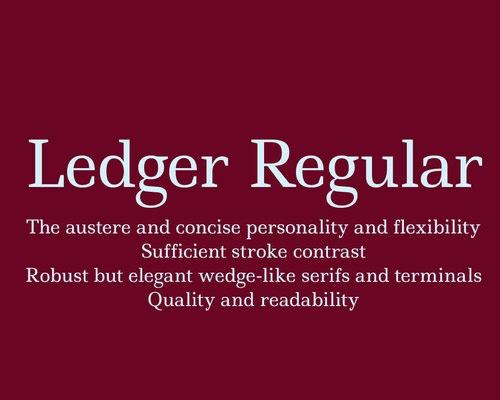 ledger-regular