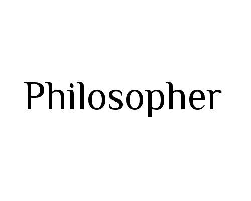 philoshphere