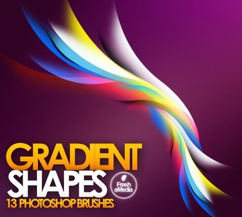 gradient-shape-brushes