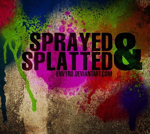 spray-splattered-brush
