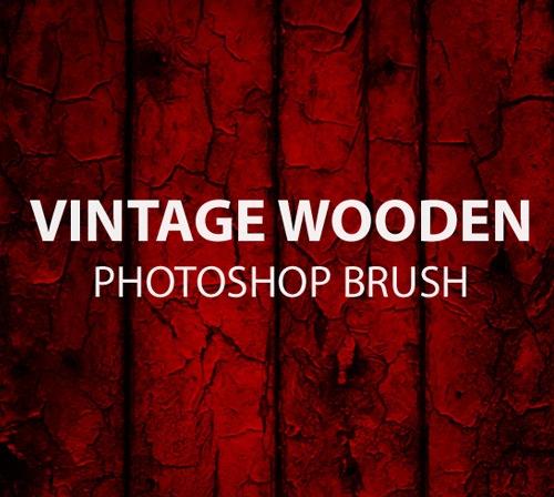 vinatge-wooden-photoshop-brush