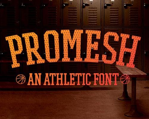 promesh-free-font