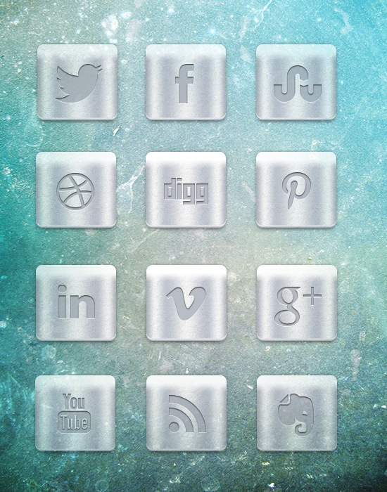 metalic-icons-preview