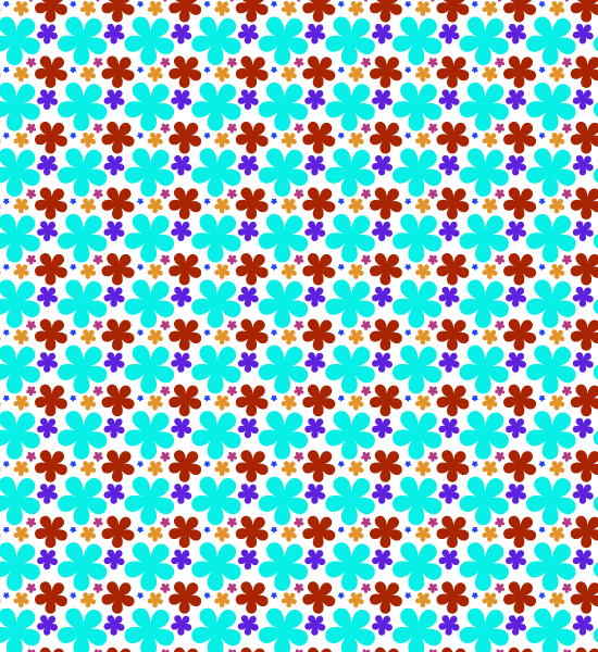 light-blue-petal-pattern