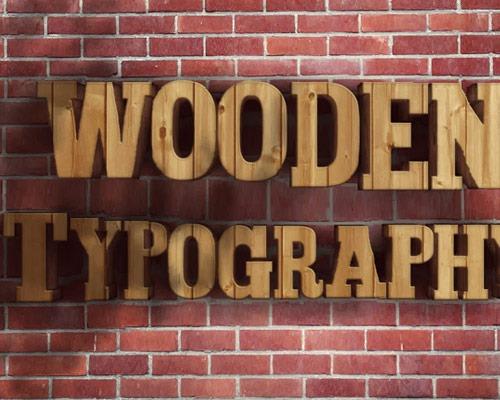 wooden-type
