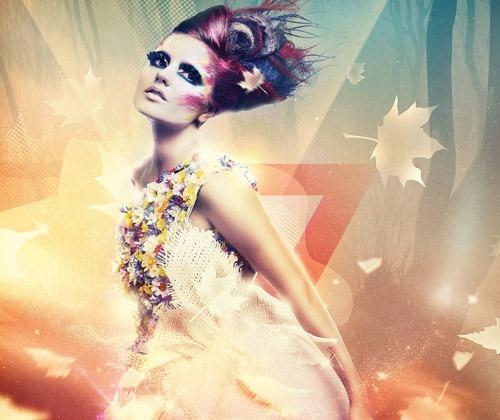 beautiful light effects 80 best Photoshop tutorials from 2013