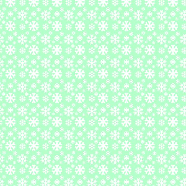 green-snowflake