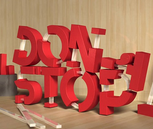 rubber text thumb 80 best Photoshop tutorials from 2013