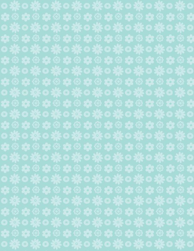 green-petal-pattern