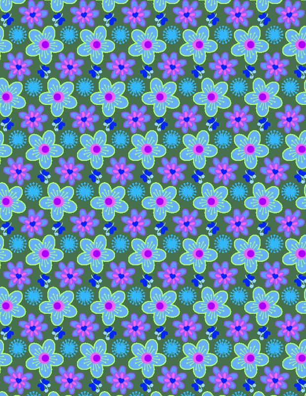 blue-vibrant-pattern
