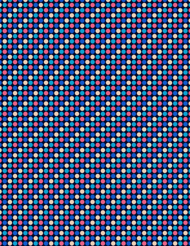 retro-blue-circle-pattern