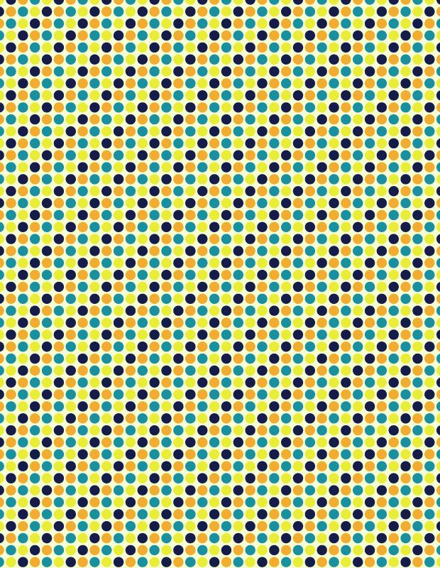 yellow-retro-circle-pattern
