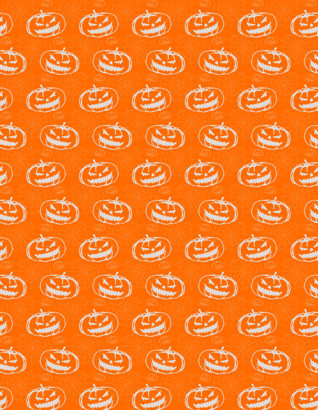 orange-pumkin-pattern