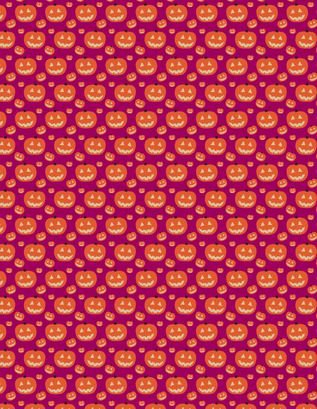 purple-pumkin-pattern