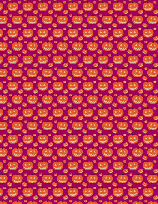 purple-pumkin-pattern