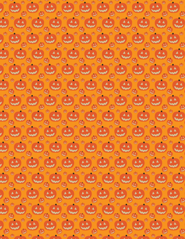 simple-orange-pumkin-pattern