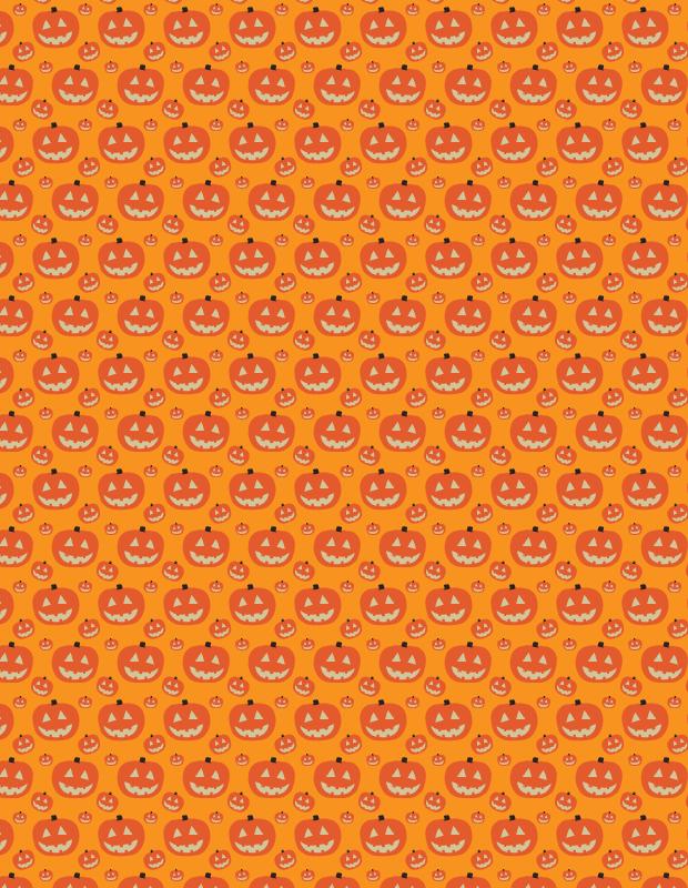 simple-orange-pumkin-pattern