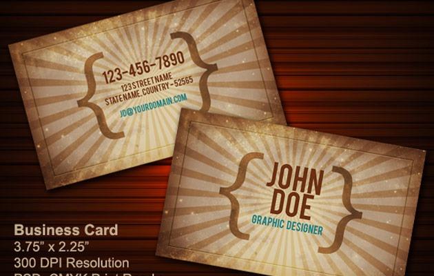 business-cards-vintage