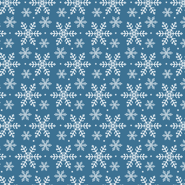 dark-blue-snowflake-pattern